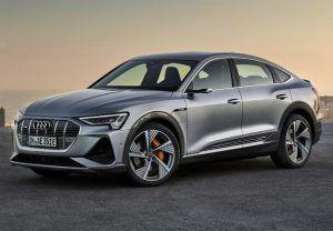 Renting Audi e-tron