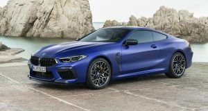 Renting BMW M8 Competition