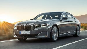 Renting BMW Serie 7