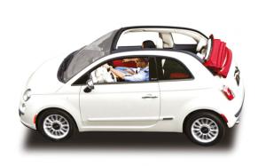 Renting Fiat 500C