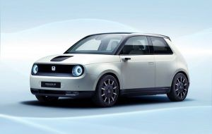 Renting Honda e 100 KW