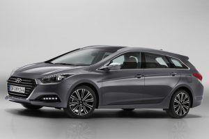 Renting Hyundai i40