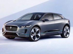 Renting Jaguar i-PACE