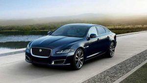 Renting Jaguar XJ