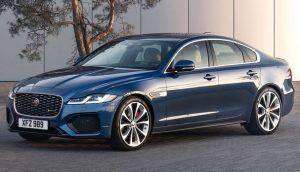 Renting Jaguar XF