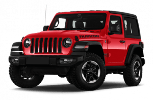 Renting Jeep Wrangler