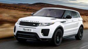 Renting Land Rover Range Rover Sport