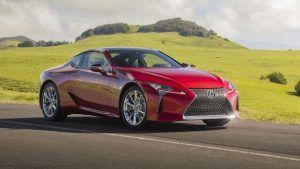 Renting Lexus LC