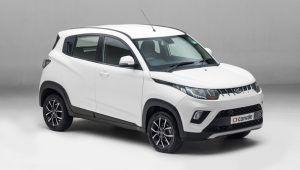 Renting Mahindra KUV100