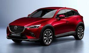 Renting Mazda CX-3