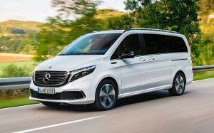 Renting Mercedes-Benz EQV