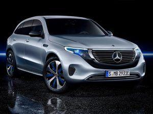 Renting Mercedes-Benz EQC