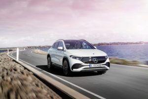 Renting Mercedes-Benz EQA