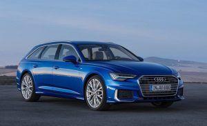 Renting Audi A6 Avant