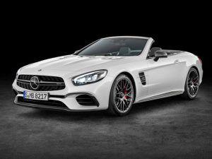 Renting Mercedes-Benz SL
