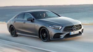 Renting Mercedes-Benz CLS