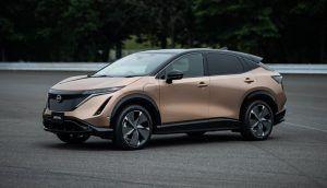 Renting Nissan Ariya