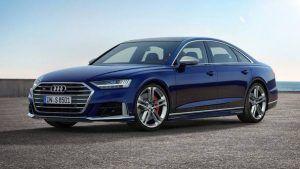 Renting Audi A8