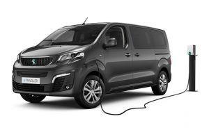 Renting Peugeot e-Traveller