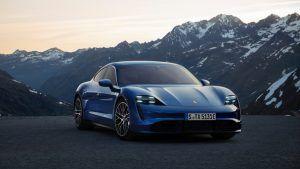 Renting Porsche Taycan