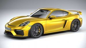 Renting Porsche 718 Cayman