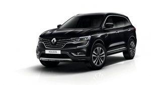 Renting Renault Koleos