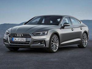 Renting Audi A5 Coupé