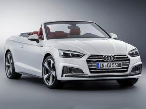 Renting Audi A5 Cabrio