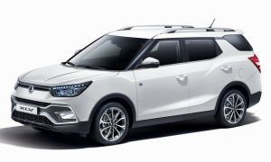 Renting SsangYong XLV