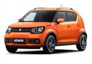 Renting Suzuki Ignis