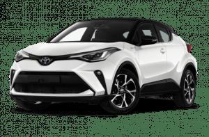 Renting Toyota C-HR