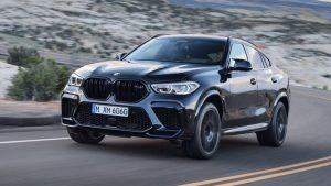 Renting BMW X6 M Competition
