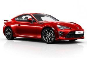 Renting Toyota GT86