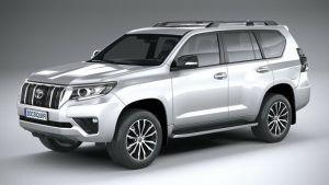 Renting Toyota Land Cruiser