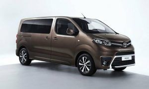 Renting Toyota PROACE Verso