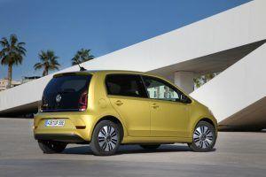 Renting Volkswagen e-up!