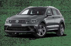 Renting Volkswagen Tiguan